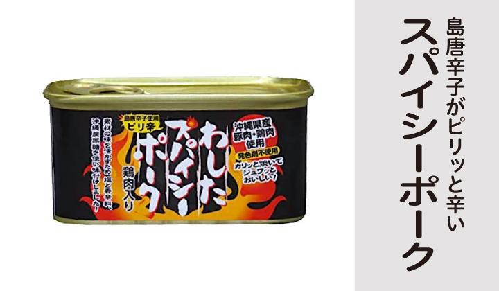 わしたスパイシーポーク缶詰