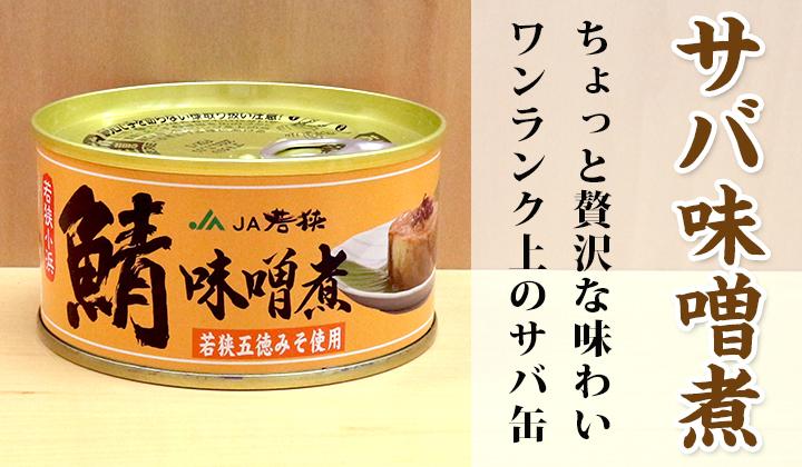 さば味噌煮缶詰