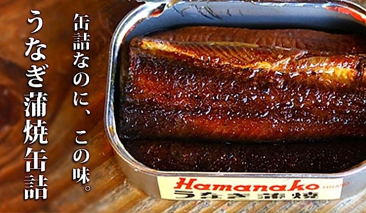 うなぎ蒲焼缶詰