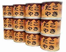 たこやき缶詰(青のり・鰹節付き)12缶入り