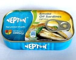 スモークオイルサーディン缶詰