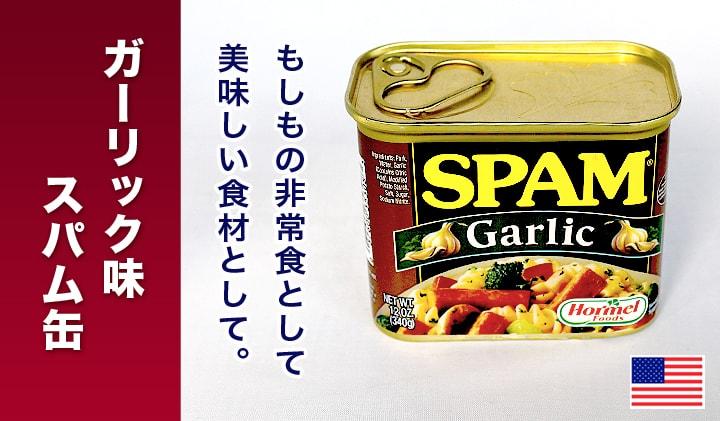 スパムガーリック缶詰